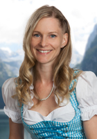 On the photo you see the member of the team from the holiday region Dachstein Salzkammergut, Eveline Glöckl