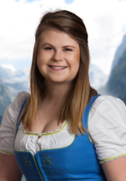 On the photo you see the member of the team from the holiday region Dachstein Salzkammergut, Hannah Lidauer